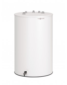 Vitodens 100-W s čiernobielym 7-segmentovým  LED- dotykovym displejom  so zásobníkom Vitocell 100-W typ CUGB  objem 120 litrov - 19 kW